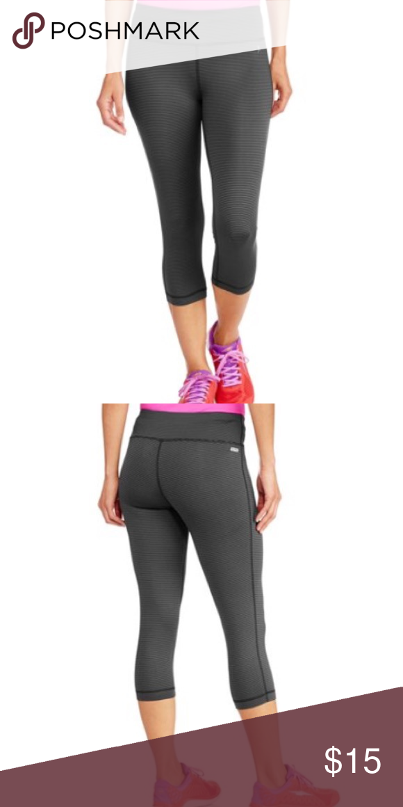 78e6ce0561fc25 Danskin NOW athletic Capri Dark charcoal grey stretchy Capri. Made from  polyester and spandex materials