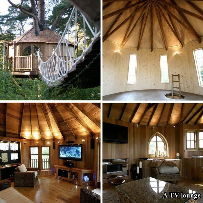 Amazing Tree Houses For Adults – 17 Pics