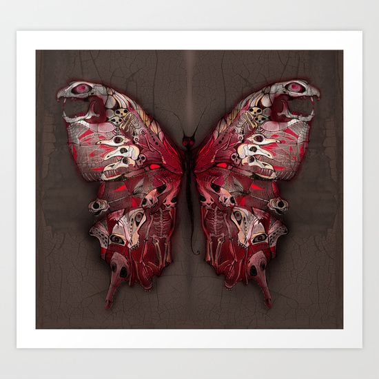Gothic Butterfly by Baba Yagada