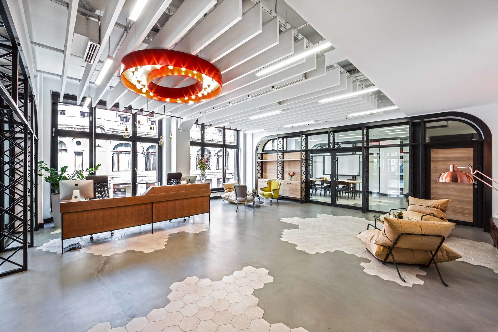 This Tech Office Is a Brilliant Mishmash of Styles Opera