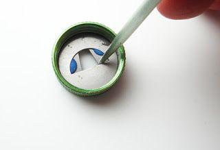 einfache Art und Weise sich eigene Formen für den Extruder zu basteln