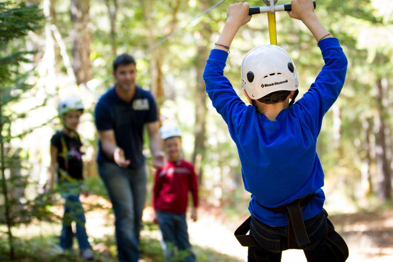 how to build a zip line cool builds pinterest backyard
