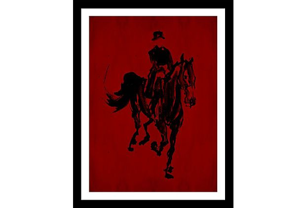 Do it my self w/subject matter I want and frame. Horses III on OneKingsLane.com