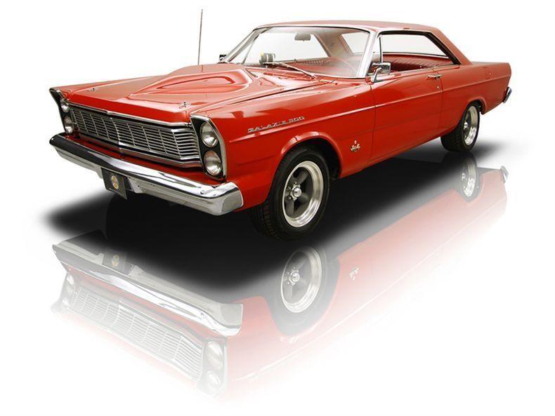 1965 Ford Galaxie My First New Car 352 Cu Auto Ragoon Red
