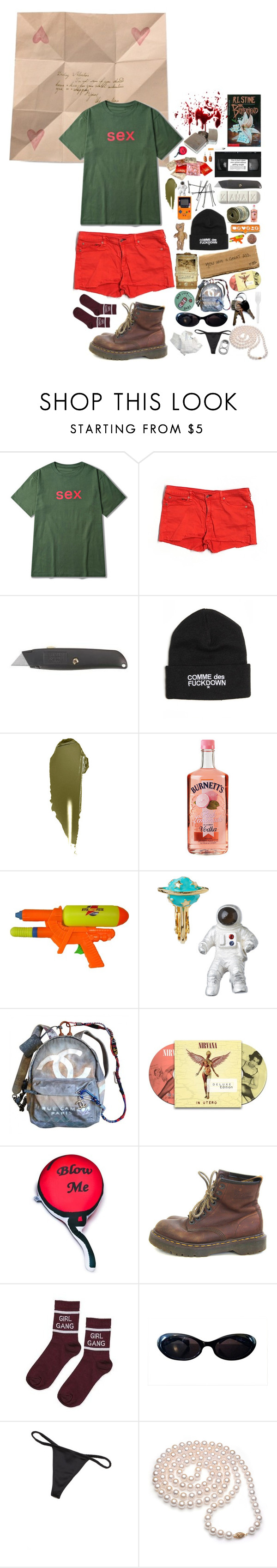 """""""SEXEXEX"""" by anna-pensky ❤ liked on Polyvore featuring Une, rag & bone/JEAN, BOBBY, SSUR, NARS Cosmetics, Scully, Chanel, O-Mighty, Dr. Martens and Topshop"""