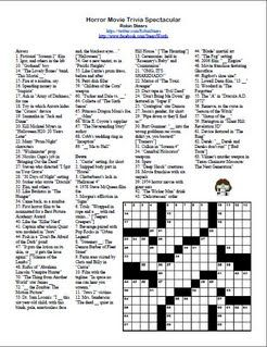photograph about Printable Movie Crossword Puzzles identified as Pin upon Crossword Puzzles