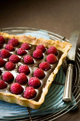 Tarte Chocolatframboises Maison Recipe Chocolate Tarts - Cuisine journaldesfemmes