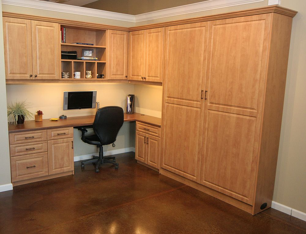 Murphy Bed And Home Office Combination Http Www Closet