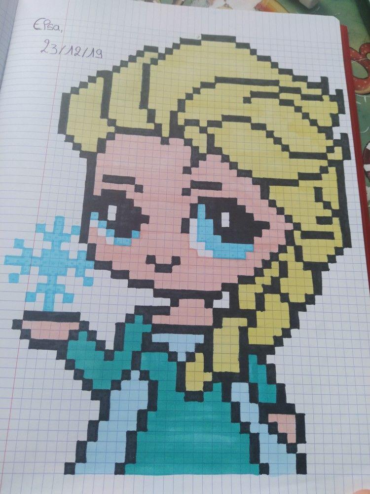 Epingle Par Alysson Sur Pixel Art En 2020 Coloriage Pixel Art Coloriage Pixel Dessin Quadrillage
