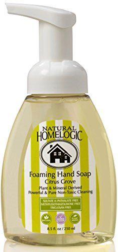 Natural Homelogic Sulfate Free Foaming Hand Soap 85 Oz Citrus