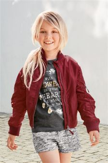 Next Bomber Jacket (3-16yrs) £29 | Inspiration Children's Jackets ...