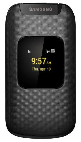 Amazon Com Samsung Entro Black Virgin Mobile Cell Phones