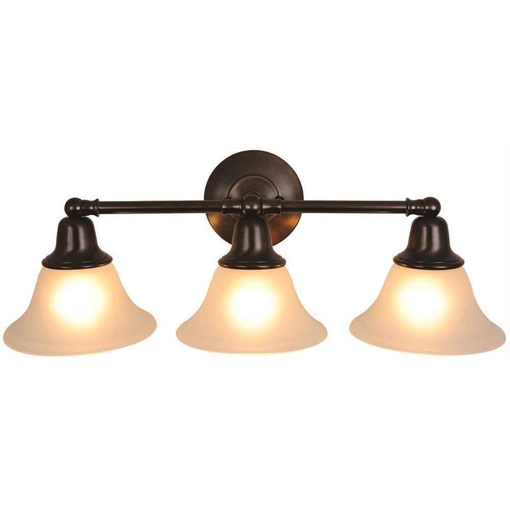 Sonoma Vanity Fixture With Three 13 Watt Compact Type Fluorescent Lamps 24 1 2 In