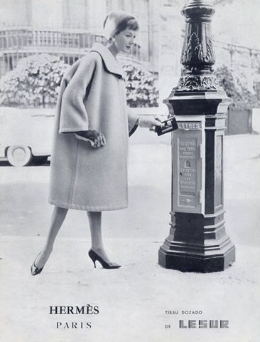 Hermès (Couture) 1958 Fashion Photography