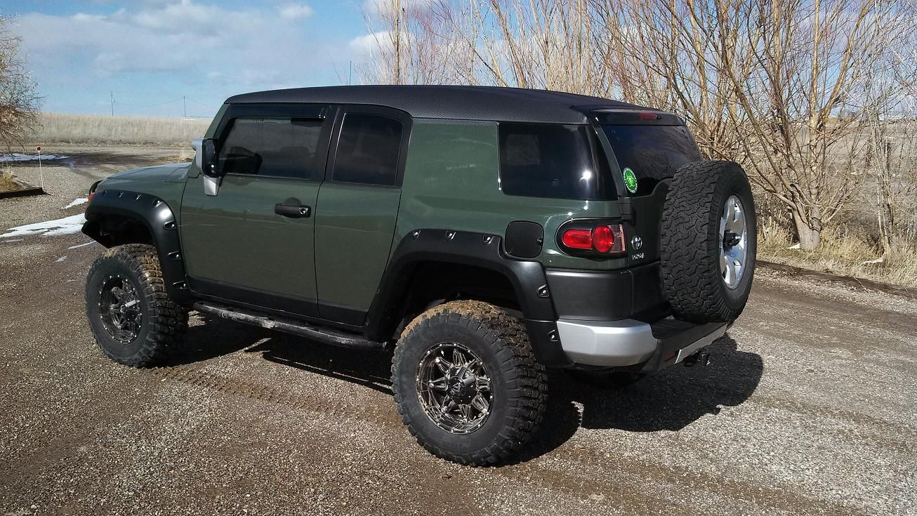 Green toyota fj cruiser lifted google search