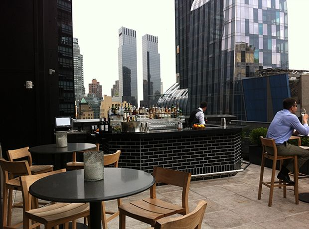 The Roof at Viceroy New York High Hot Spot: The Roof at Viceroy New York What's Up: This Gerber Group bar is located on the 28th floor of the newly opened, Central Park-facing hotel which has already had members of Divergent and Modern Family as guests.