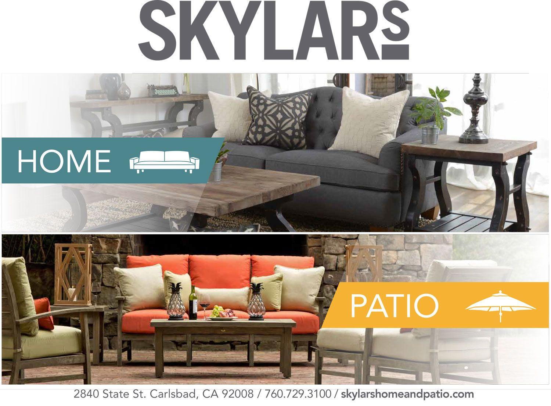 Skylars Home Furnishings Patio Furniture San Diego Carlsbad North County Tell Them You Found Them On Thehomemag Www Skyl Furniture Home Patio Furniture