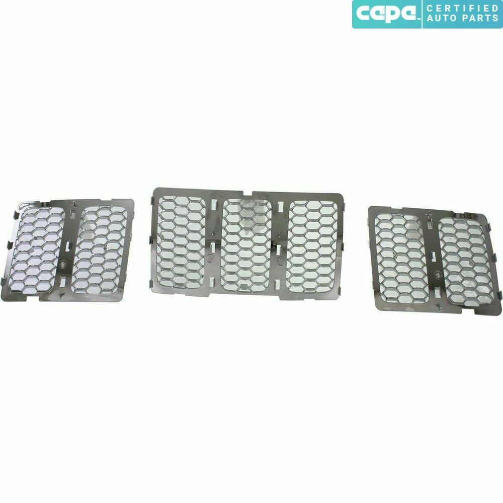 New Grille Chrome Front For Jeep Grand Cherokee 20142016