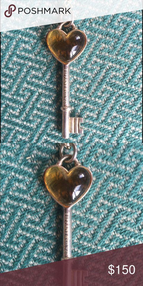 151a80a0617c Spotted while shopping on Poshmark  Tiffany key necklace pendant!  poshmark   fashion  shopping  style  Tiffany   Co.  Jewelry