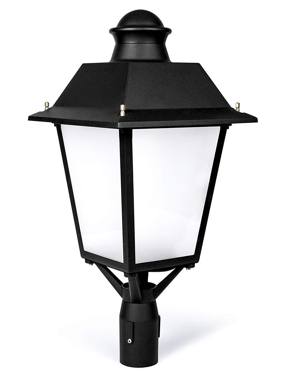 Hyperikon Lamp Post Light Fixture Led 60w Street Lamp Dimmable