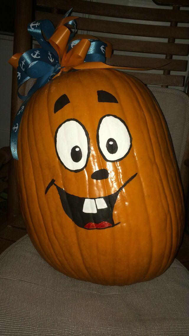 Funny pumpkin painting face | Pumpkin face paint, Painted ...