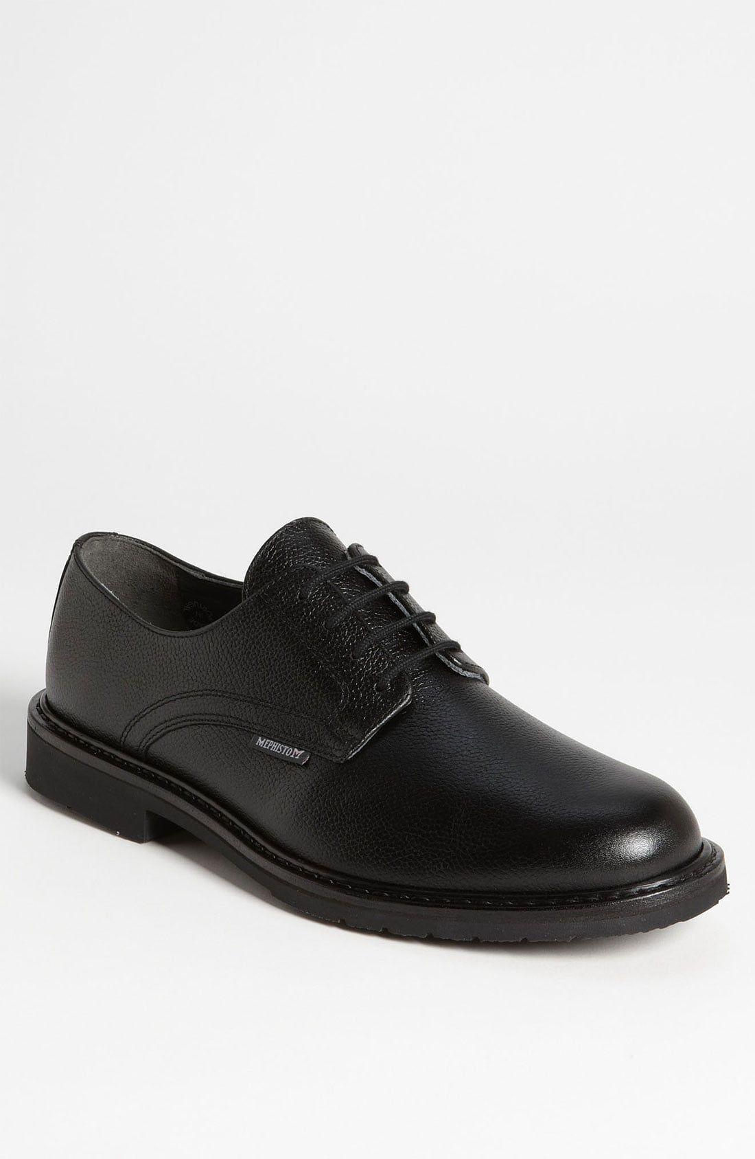 Men S Mephisto Marlon Derby Size 8 5 M Black Derby Shoes