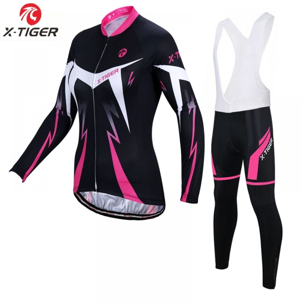 87d858f60 X-Tiger Anti-UV Spring Womens Cycling Clothing 100% Polyester Bicycle  Cycling Wear Cycling Bike Clothes Cycling Jersey Set Price  37.66   FREE  Shipping   ...