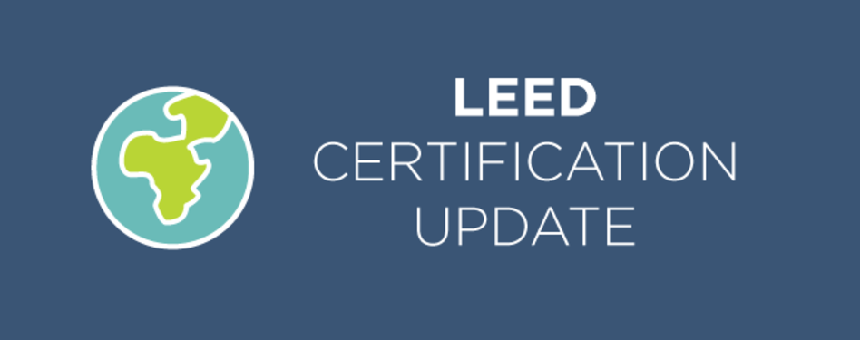 Leed Certification Update Second Quarter 2016 Us Green Building