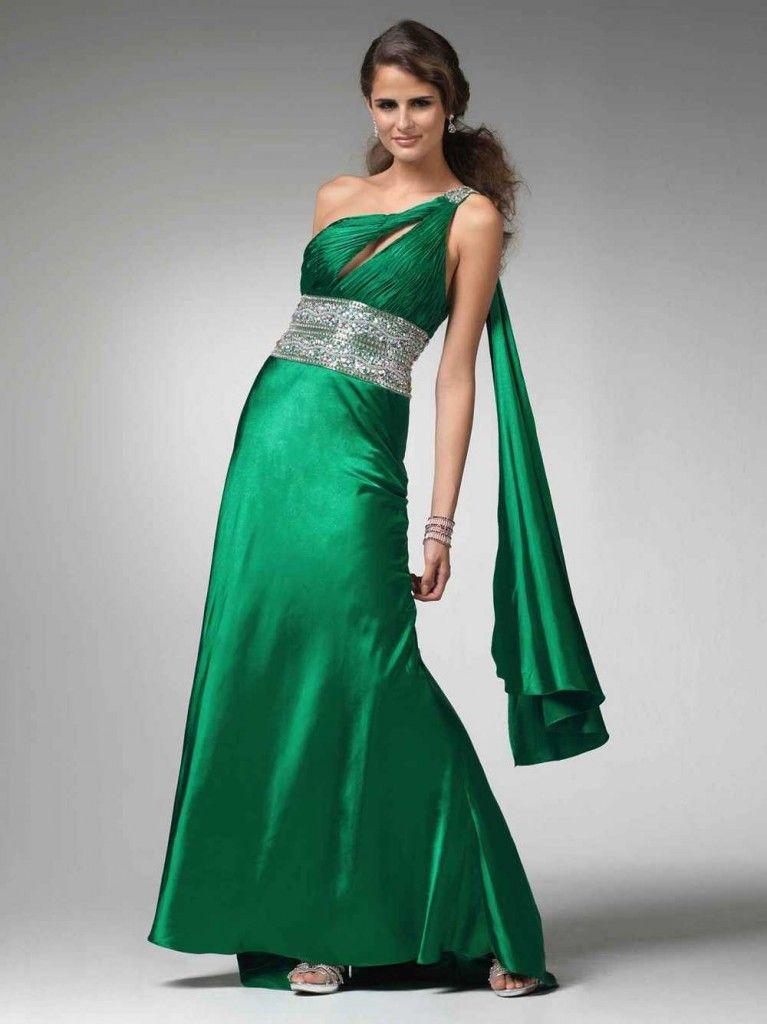 218fc9804 Vestido verde largo