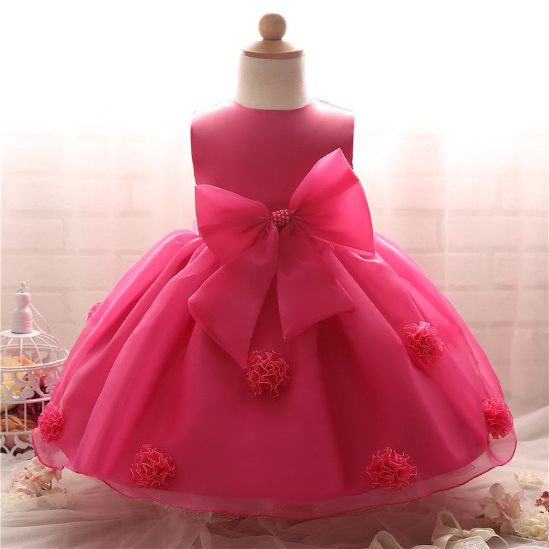 380099302 Click to Buy << Toddler Girl Baptism Dress Infant Princess Costume Baby Girl  1 Year Birthday Dress Kids Party Wear Dresses For Girls Baby Frocks  #Affiliate. >>