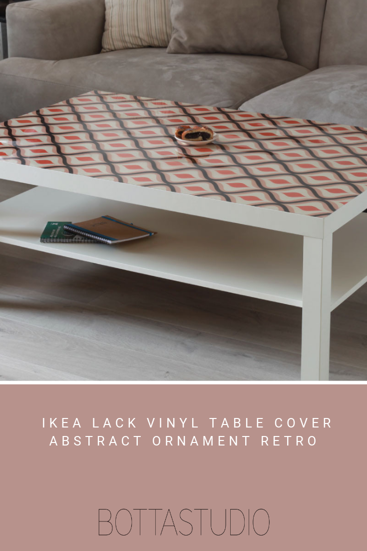 Table Pvc Cover Abstract Ornament Retro Pattern Eco Friendly And Non Toxic Pvc Cover Designed To Ikea Lack Vinyl Table Covers Ikea Lack Table Table Covers [ 1102 x 735 Pixel ]