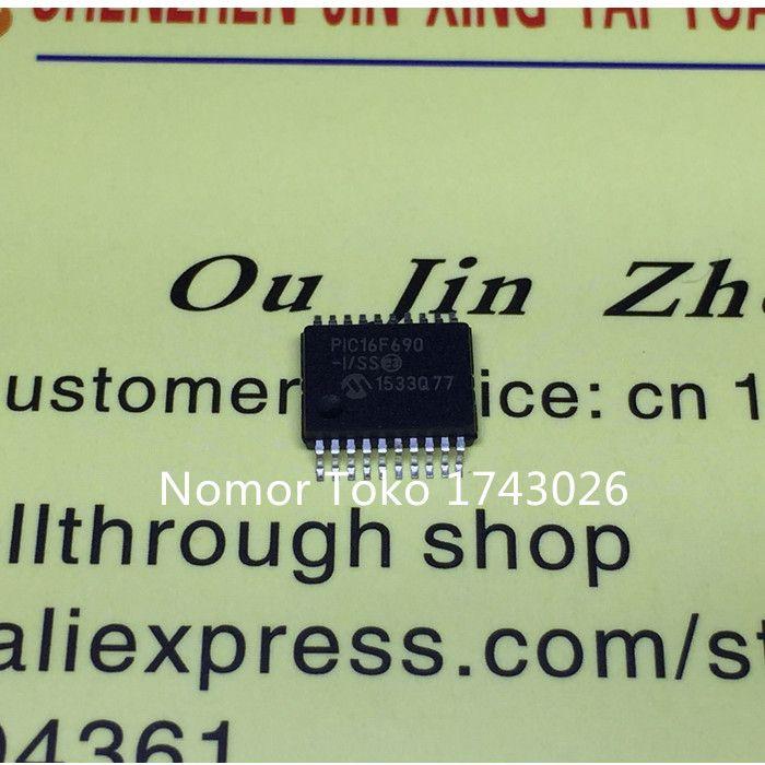 Original 5pcs PIC16F690-I/SS PIC16F690 SOP-20 genuine guarantee - why sop is used