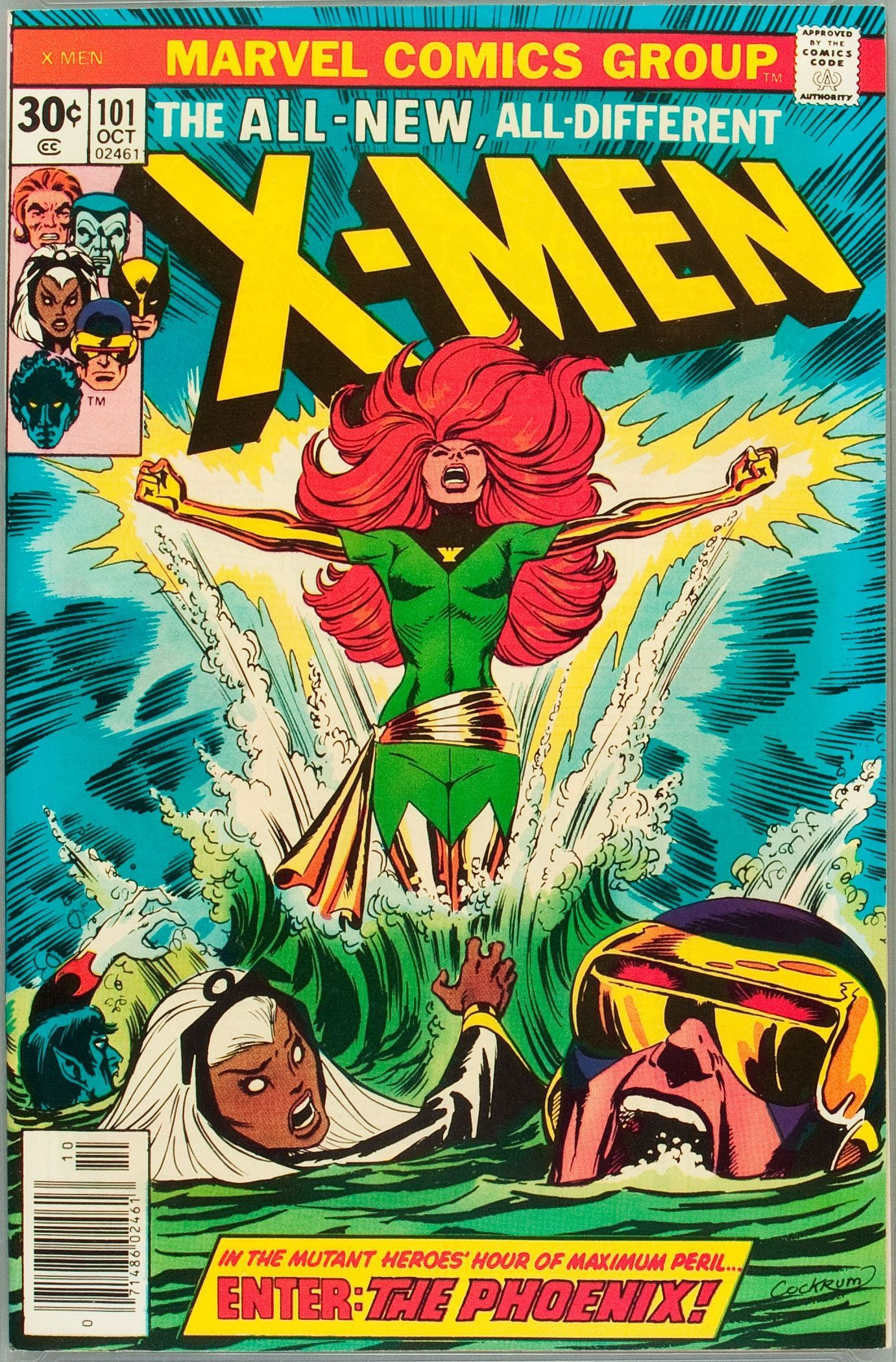 XMen 101 (Marvel, 1976) Origin and first appearance of