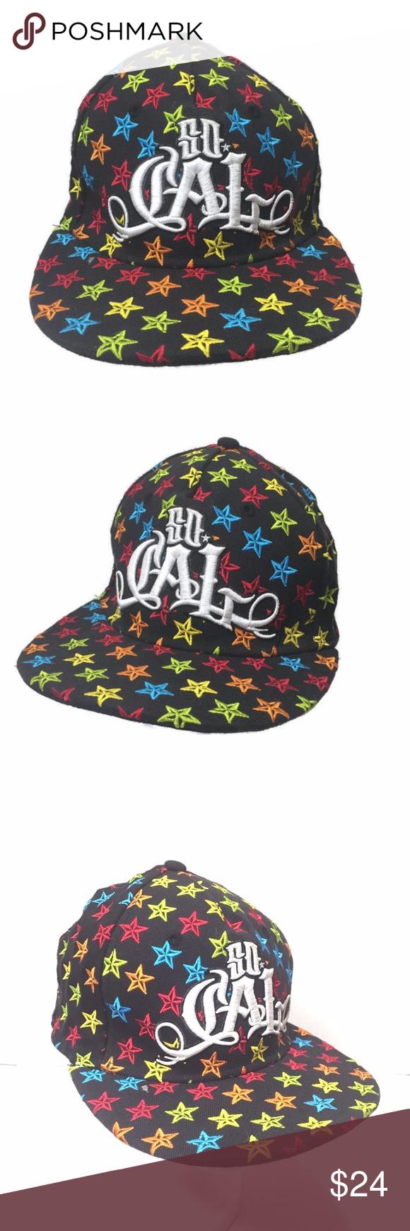 7ad59519c0f44a SoCal Hat California LA Beach Urban Flat Bill So Cali Urban Street wear  Flex Fit Hat