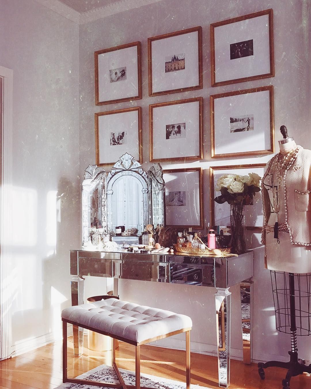 Master bedroom gallery wall   Followers  Following  Posts  See Instagram photos