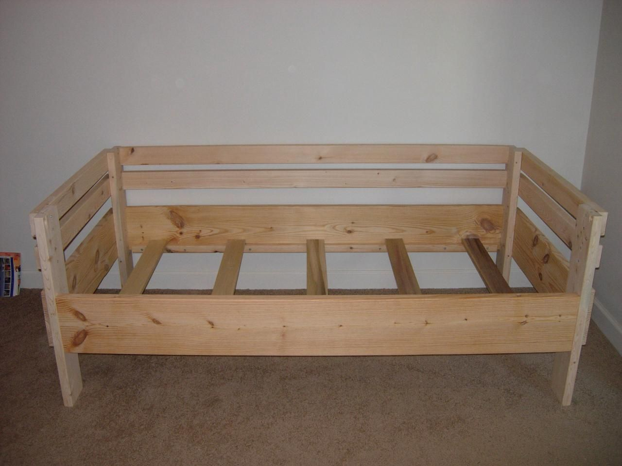 Bunk loft twin and day beds diy twin bed frame diy