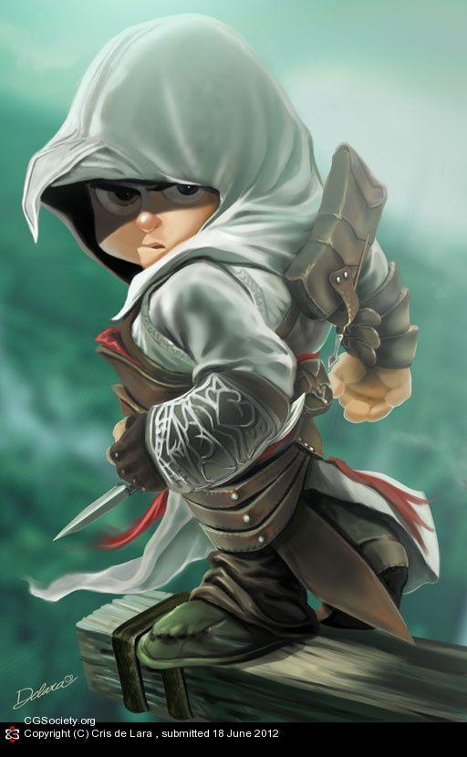 TOYART- Altair Assassins Creed by Cris Delara | 2D | CGSociety