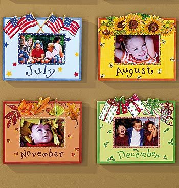 Whimsical Month Photo Frames View All Picture Frames Exposures