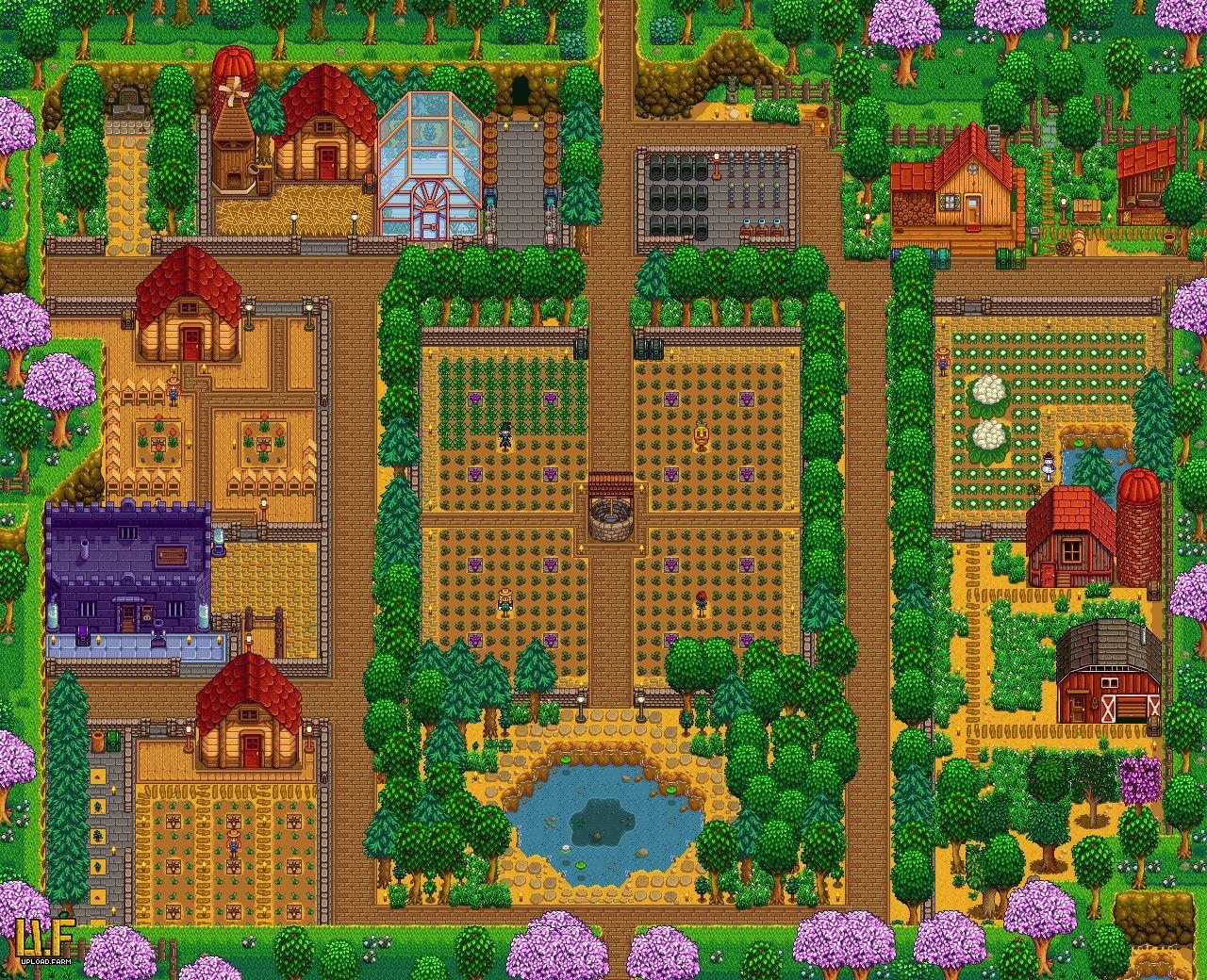 Eduxqwee On Reddit Stardew Valley Stardew Valley Farms Stardew Valley Layout