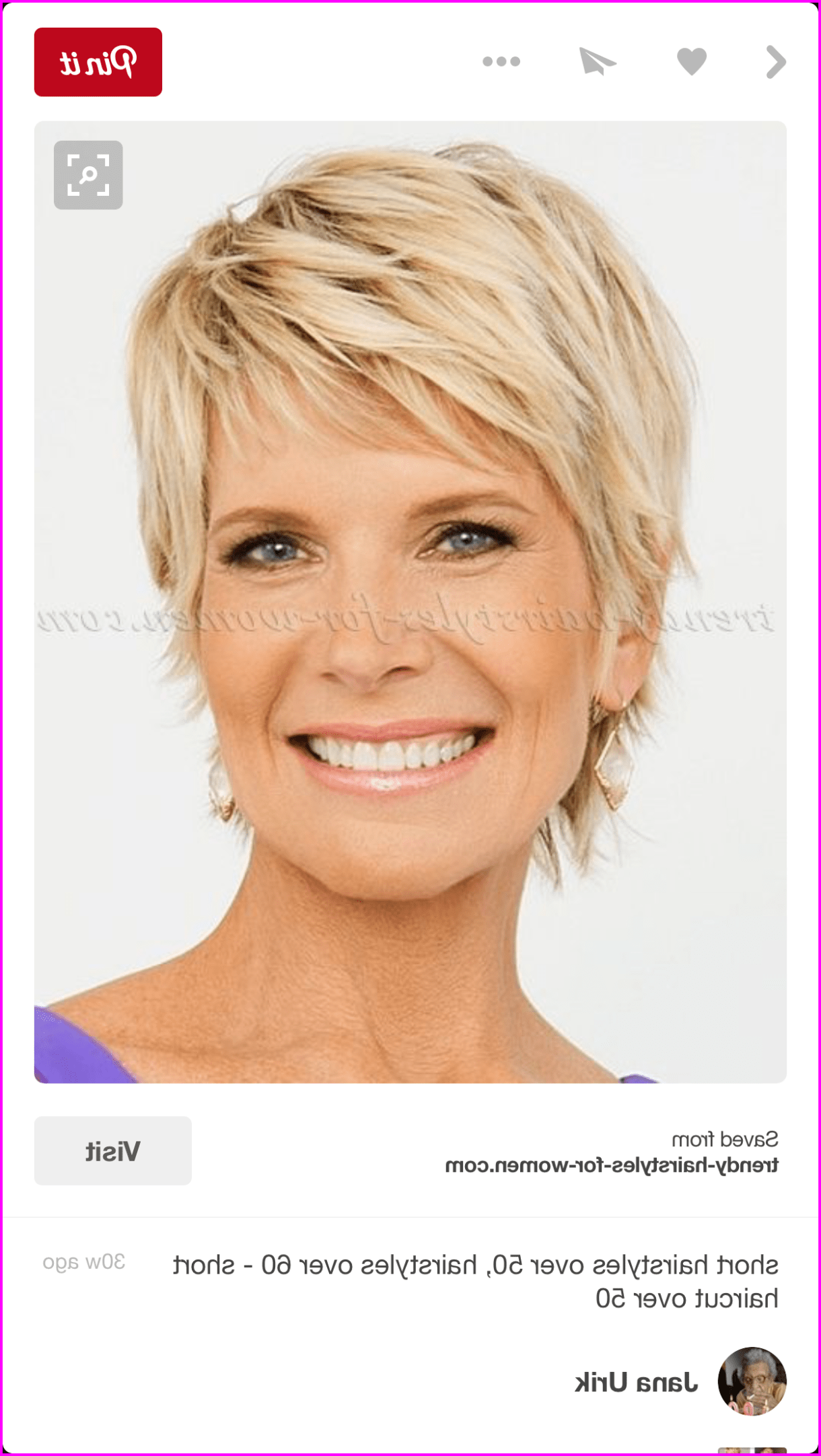 Edgy Short Hairstyles For Women Over 50 In 2020 Short Hairstyles For Thick Hair Thick Hair Styles Short Hairstyles For Women