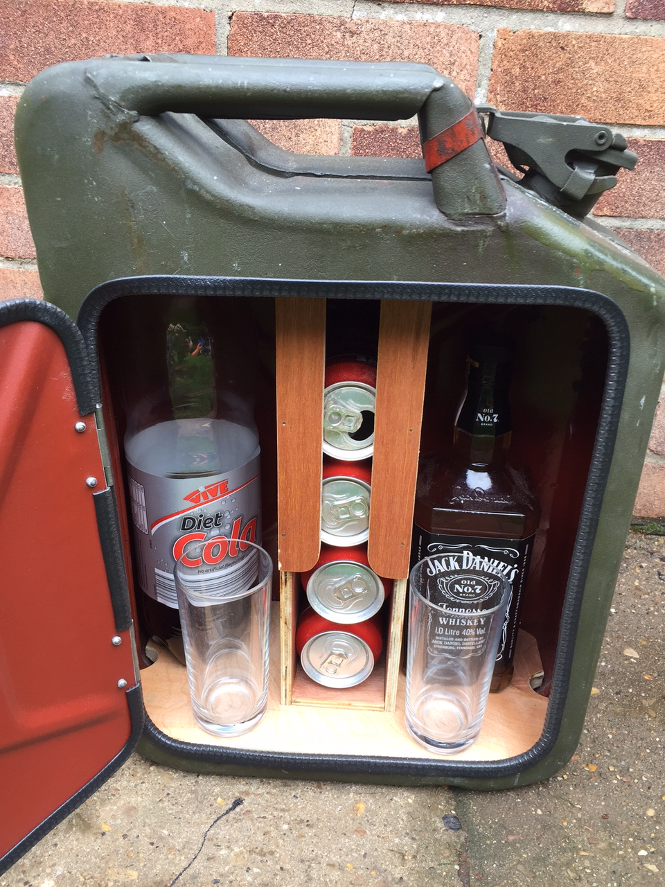 Jerry Can Minibar | crafts | Pinterest