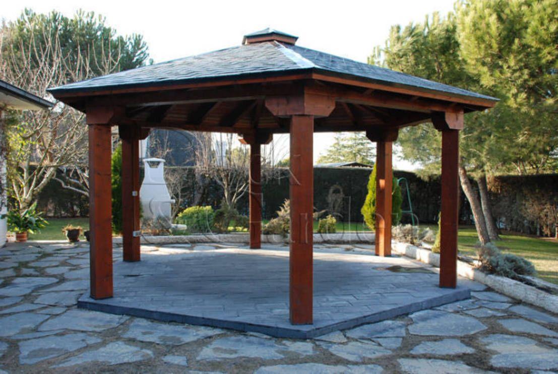 9 Sensational Wooden Gazebos Pergola Outdoor Spaces Wooden Gazebo Gazebo
