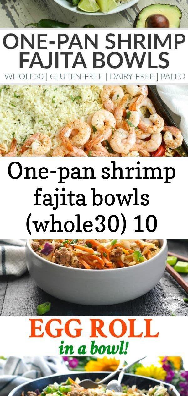 One-pan shrimp fajita bowls (whole30) 10 #beeffajitarecipe