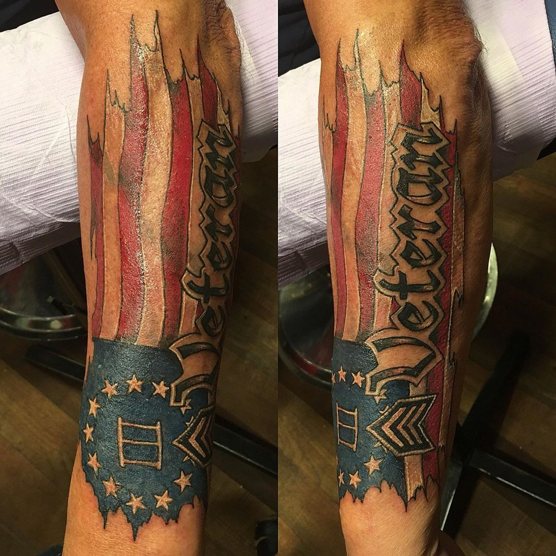 50 awesome american flag tattoo ideas in 2020 flag