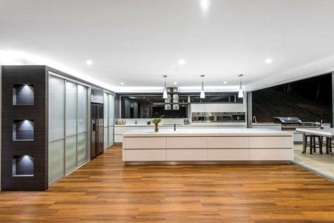Fantastisch Modernes Haus Australien Küche Kochinsel Sublime Architectural Interiors
