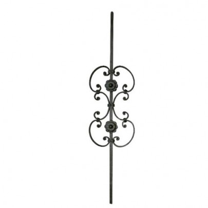 SIMEN METAL™ 21.095 Wrought Iron Forging Ornamental Balustrade Forged Pickets