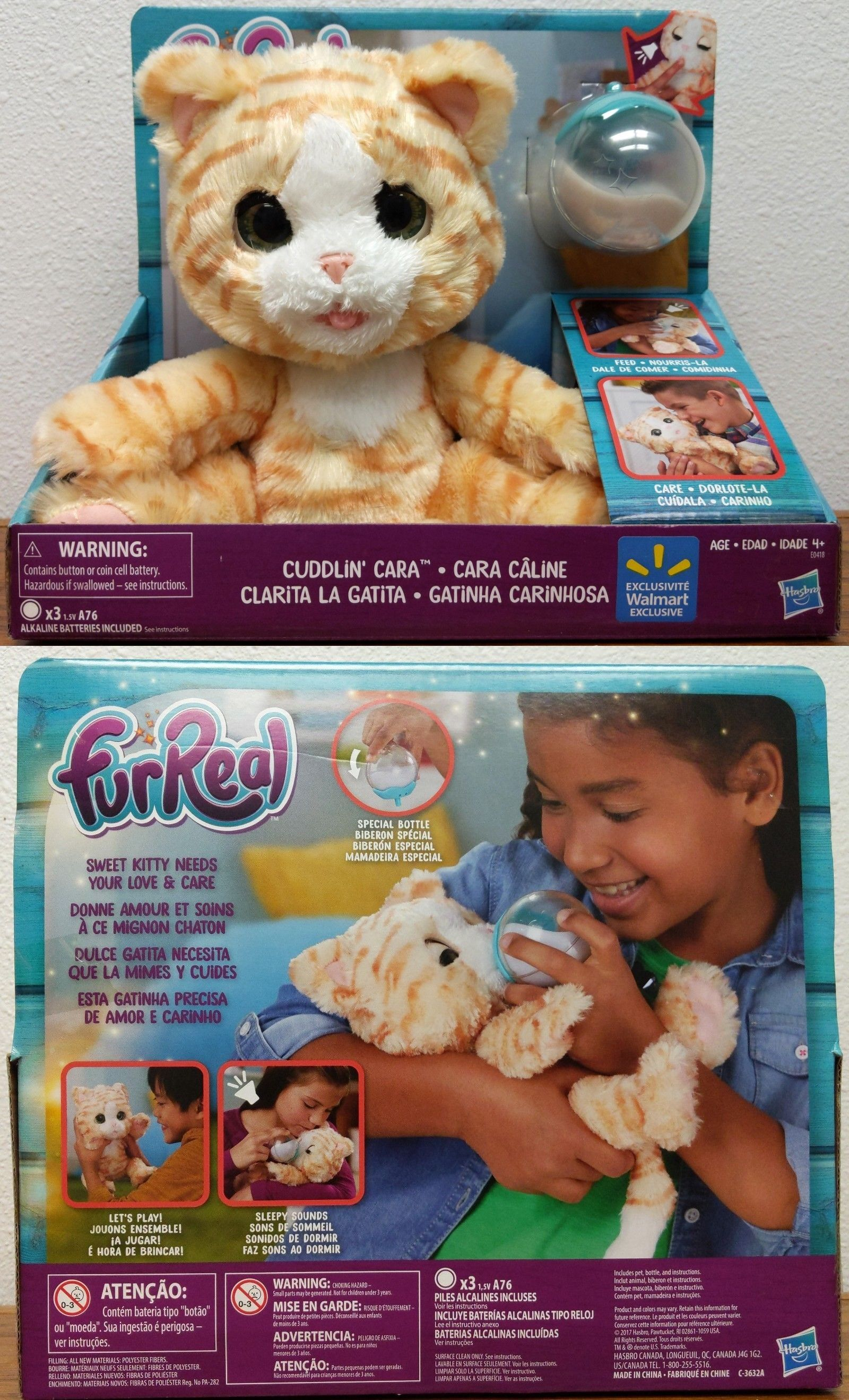 Electronic And Interactive 1082 Furreal Cuddlin Cara Kitten Doll New In Box Buy It Now Only 49 99 O Toddler Girl Gifts Toddler Boy Gifts Birthday Toys