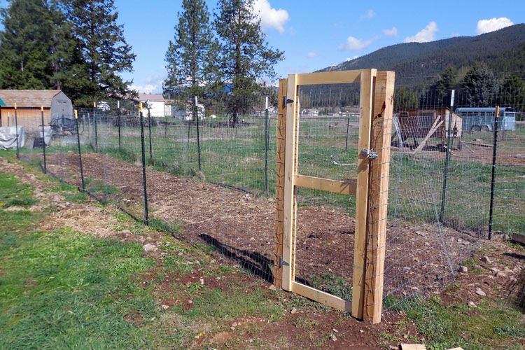 How To Put Up A Fence And Build A Gate Building A Gate Berry