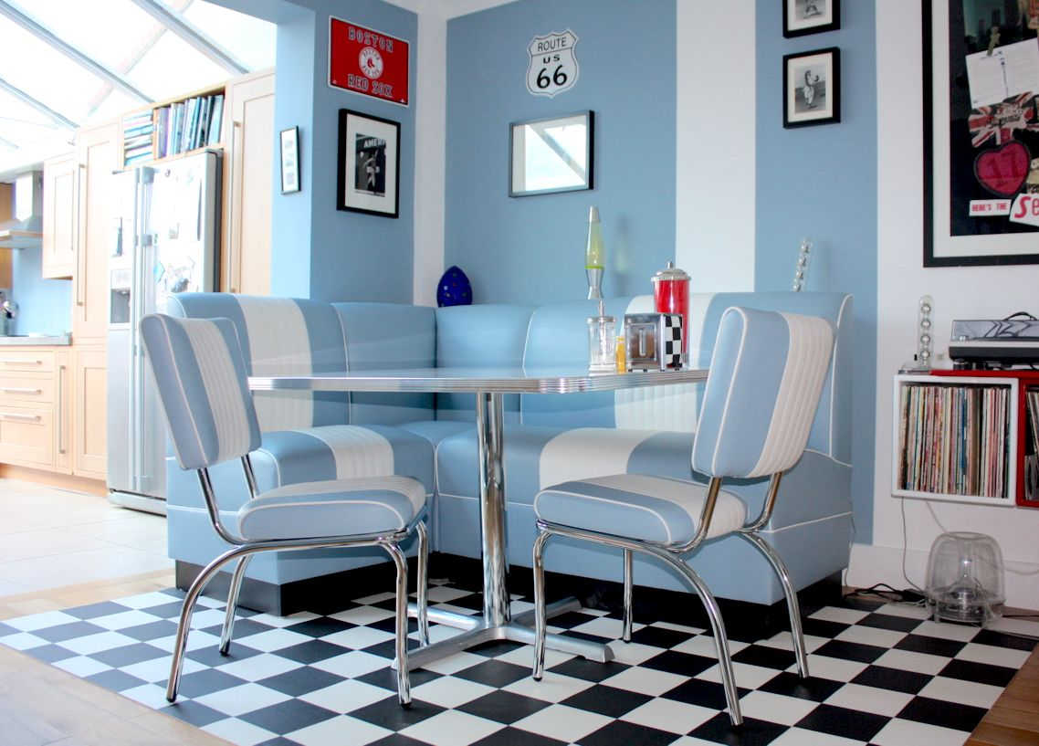 Bespoke Lexington Booth Seating with Classic Lexington Chairs in ...