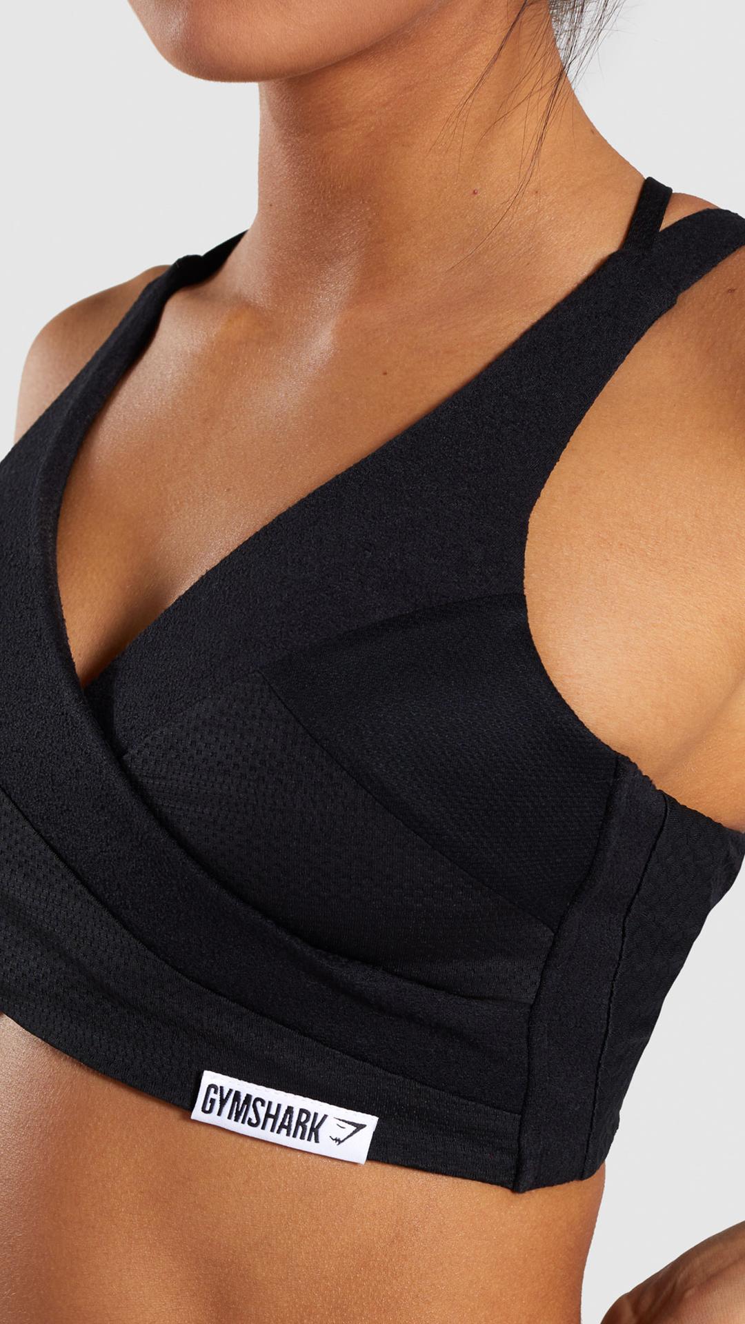afc0cbcccc Gymshark True Texture Bralette - Black in 2019